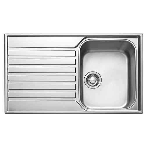 Franke Ascona Inset Sink 18 / 10 Stainless Steel 1 Bowl 860 x 510mm - Image 1