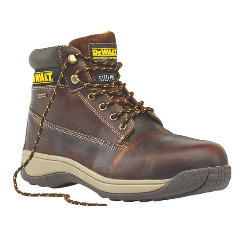 DeWalt Apprentice Galactic Safety Boots Tan Size 8 - Image 1