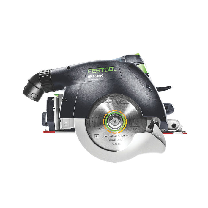 Festool Corded Circular Saw HK 55 160mm with Carry Case 240V 1200W - Image 2