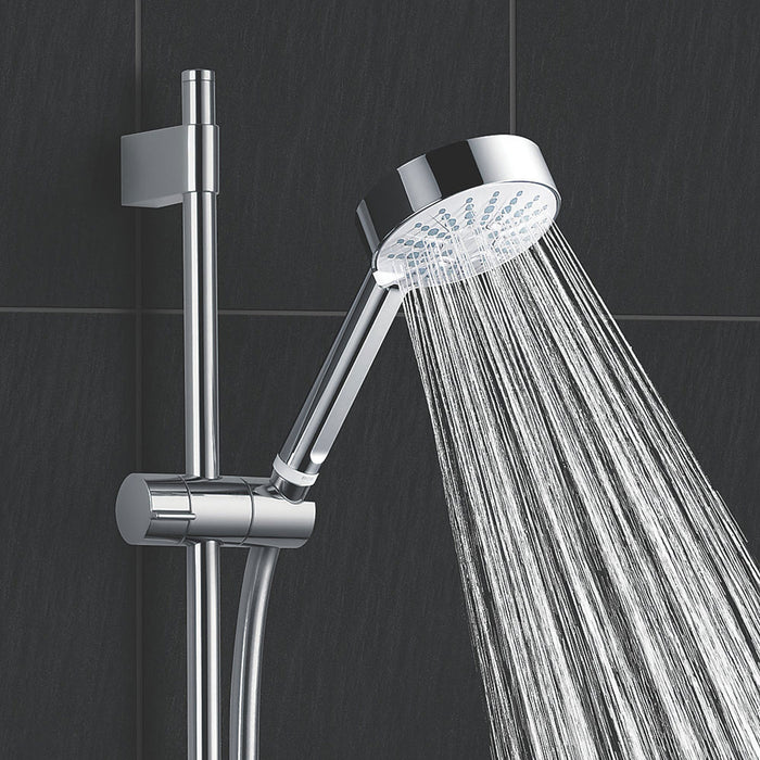 Mira Decor Manual Electric Shower 9.5kW Warm Silver - Image 5