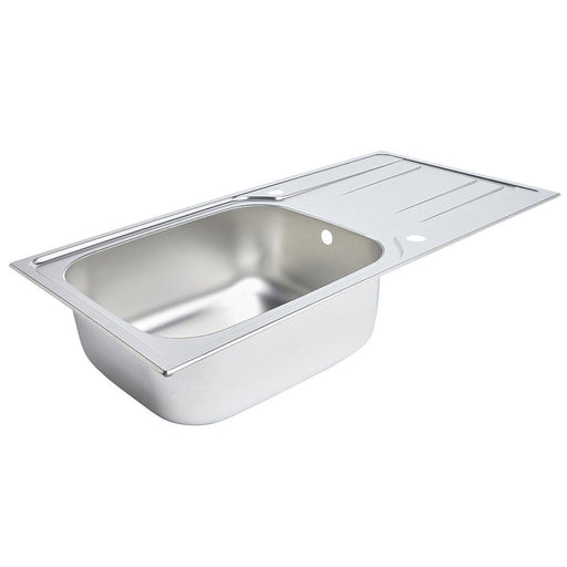 Kitchen 1 Bowl Reversible Sink Stainless Steel 1000 x 500mm - Image 1