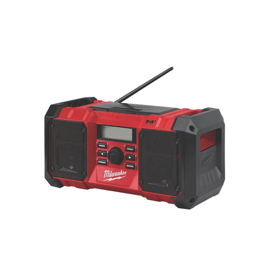 Milwaukee M18JSRDAB+-0 DAB+/FM Cordless Site Radio 18v - Image 1