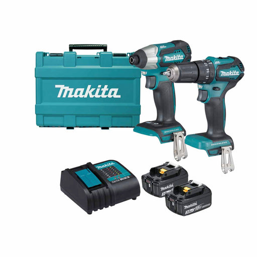 Makita Dlx2221S 18V Twin Kit 2 X3.0Ah - Image 1