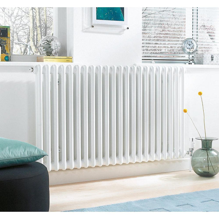 Acova  4-Column Horizontal Radiator  300 x 628mm - Image 2