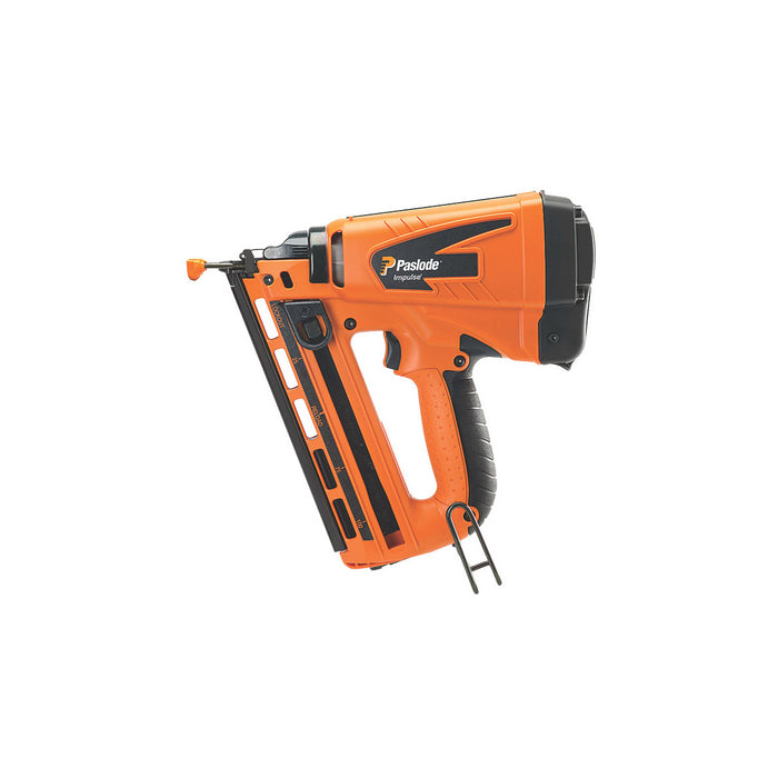 Paslode Gas Nail Gun Second Fix Cordless IM65A F16 63mm 7.4V 2.1Ah Li-Ion - Image 1