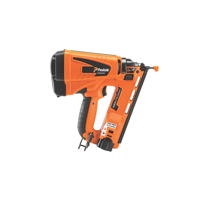 Paslode Gas Nail Gun Second Fix Cordless IM65A F16 63mm 7.4V 2.1Ah Li-Ion - Image 2