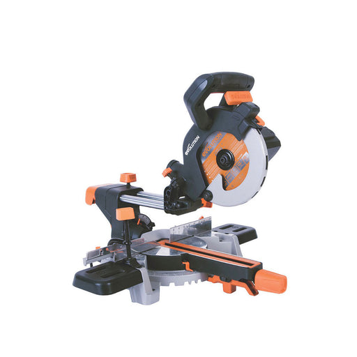 Evolution R185SMS 185mm Single-Bevel Sliding Electric Sliding Mitre Saw 110V - Image 1