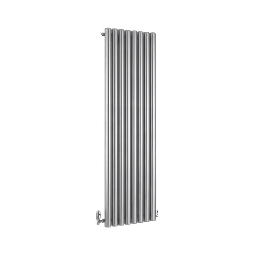 Ximax Vulkan Vertical Radiator Grey (H)1800 mm (W)585 mm - Image 1