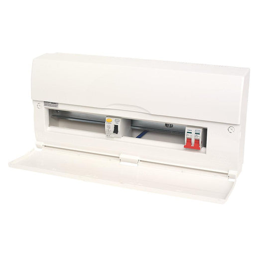 18-Way Split Load Consumer Unit 80A RCD & 100A Switch - Image 1