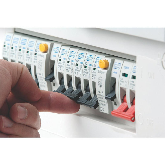 18-Way Split Load Consumer Unit 80A RCD & 100A Switch - Image 3