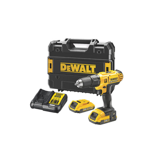 Dewalt DCD776D2T-GB 18V 2.0Ah Li-Ion XR Cordless Combi Drill Batteries Included - Image 1