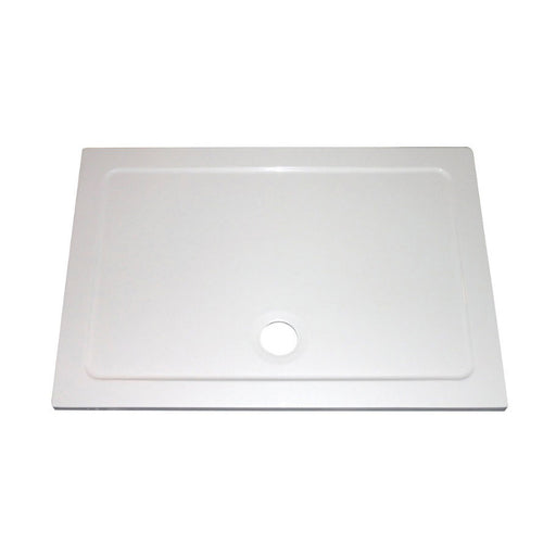 The Shower Tray Company Rectangular Shower Tray White Gloss 1200 X 900 X 35Mm (9014P) - Image 1
