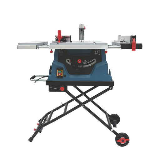 Erbauer Electric Table Saw ETS1500-A 254mm TCT Blade 220-240V Foldable Stand - Image 1
