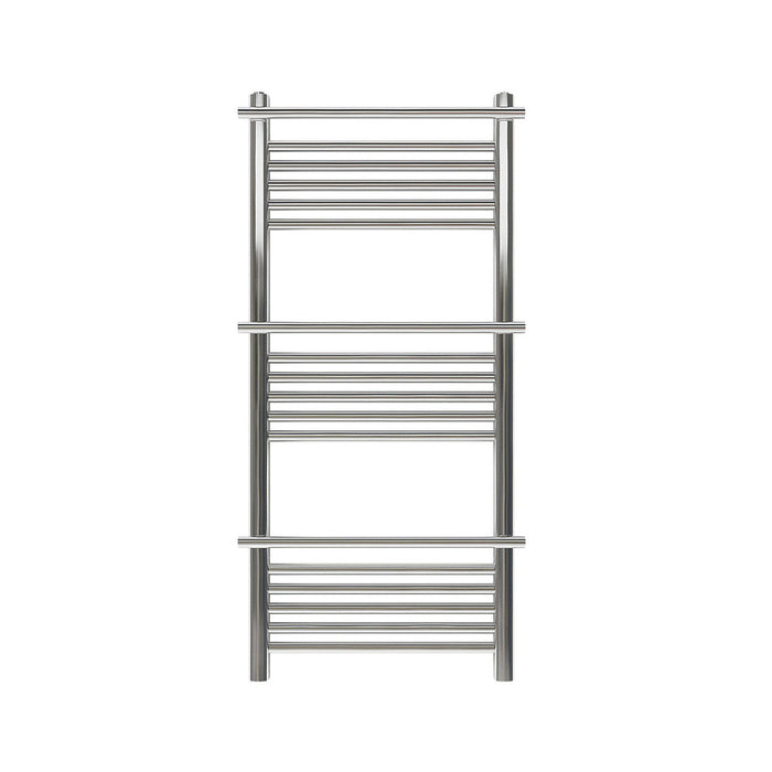Solna Vertical Chrome 1100x500 Towel warmer - Image 2
