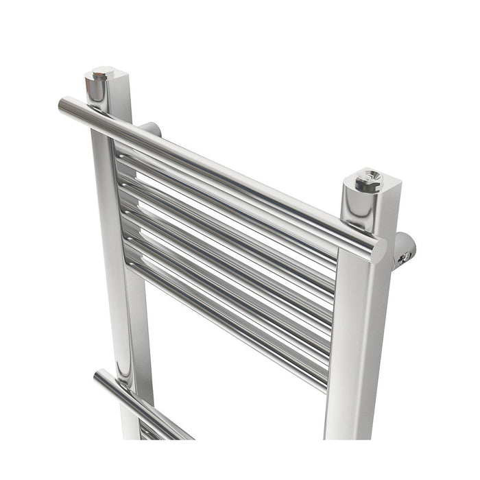Solna Vertical Chrome 1100x500 Towel warmer - Image 3