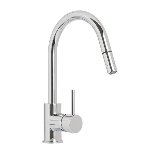 Cooke and Lewis 32A Pull-Out Spray Mono Mixer Kitchen Tap Chrome - Image 1