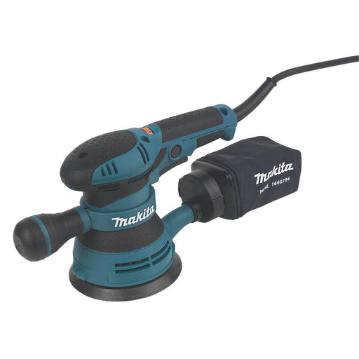 Makita Electric Random Orbit Sander 125mm BO5041 110V 300W with Dust Bag - Image 1