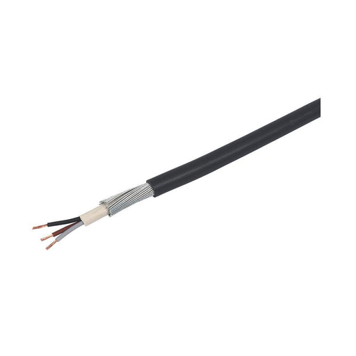 Prysmian LV Armoured 6943X 3-Core Cable 4mm² x 50m Black - Image 1