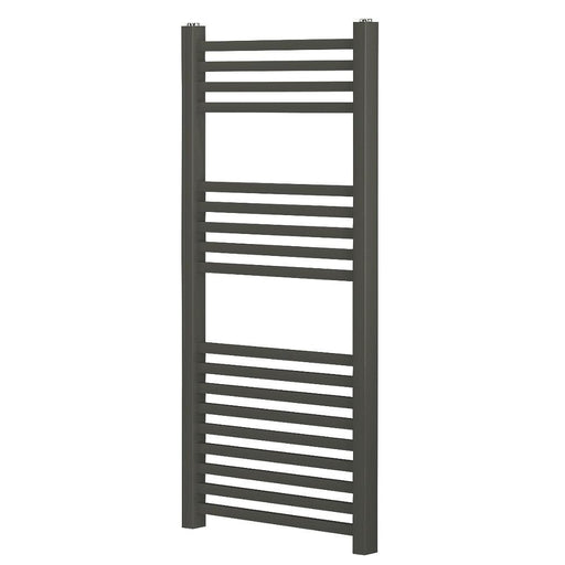 Blyss Towel Radiator Anthracite 974 x 450mm (9247V) - Image 1