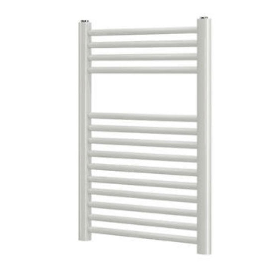 Blyss  Towel Radiator  White 700 x 400mm - Image 1