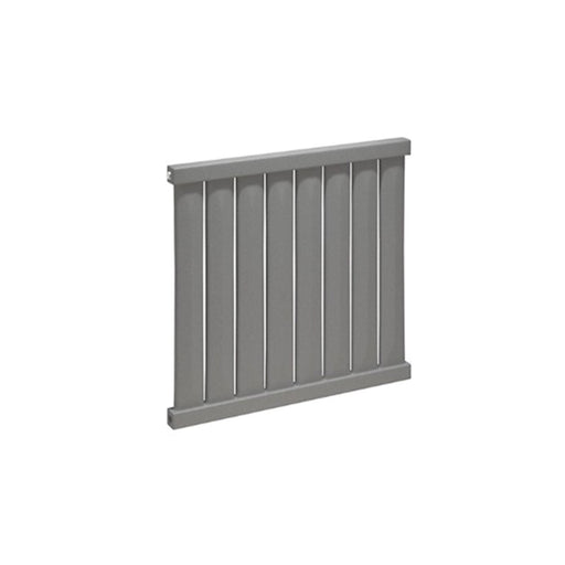 Kudox Elmas 7535 Horizontal Radiator Anthracite Matt (H)600 (W)650 mm - Image 1