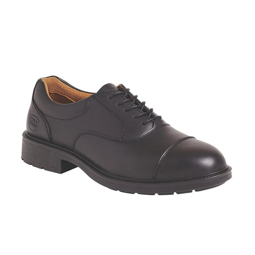 City Knights Oxford Executive Safety Shoes Black Size 10 UK - Image 1