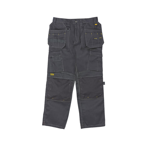 "DeWalt Pro Tradesman Work Trousers Black 34"" W 31"" L - Image 1"