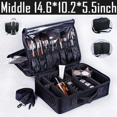 High Quality Professional Portable Makeup Organizer Suitcase