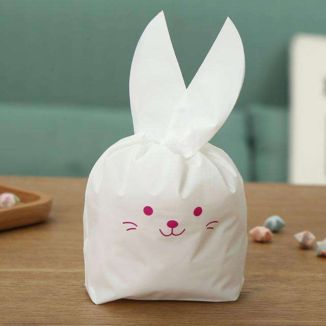 Easter bunny goodie bag 50pcs perfect party supplies thegarde robe easter bunny goodie bag negle Images