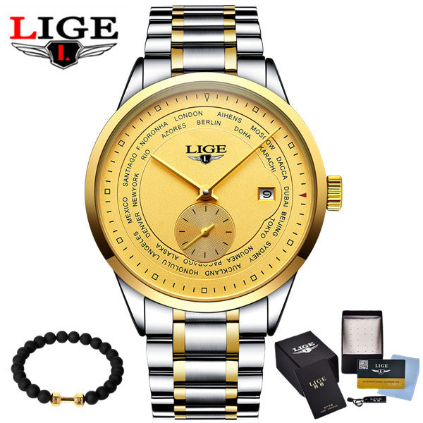 LIGE WATCHES 8808