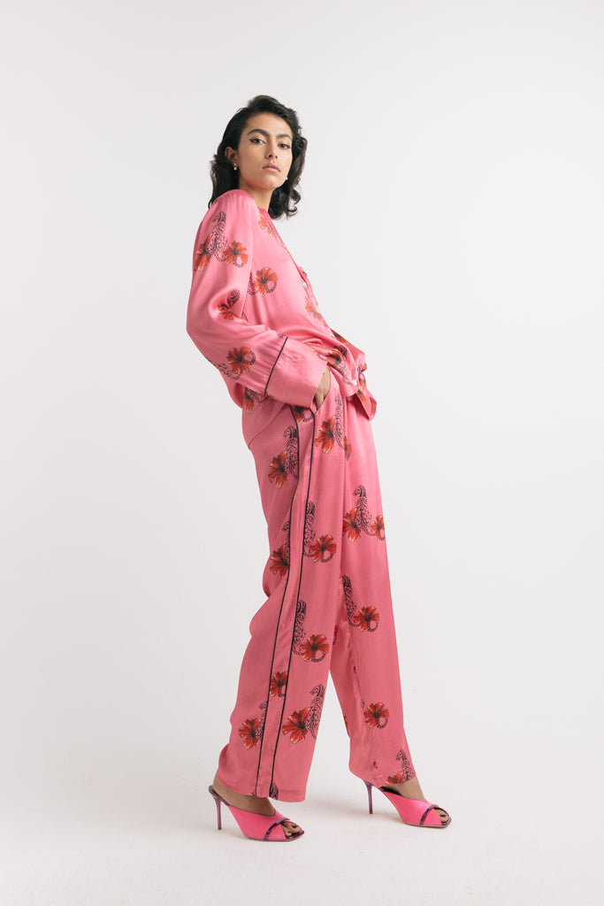 Pink Sapphire trouser