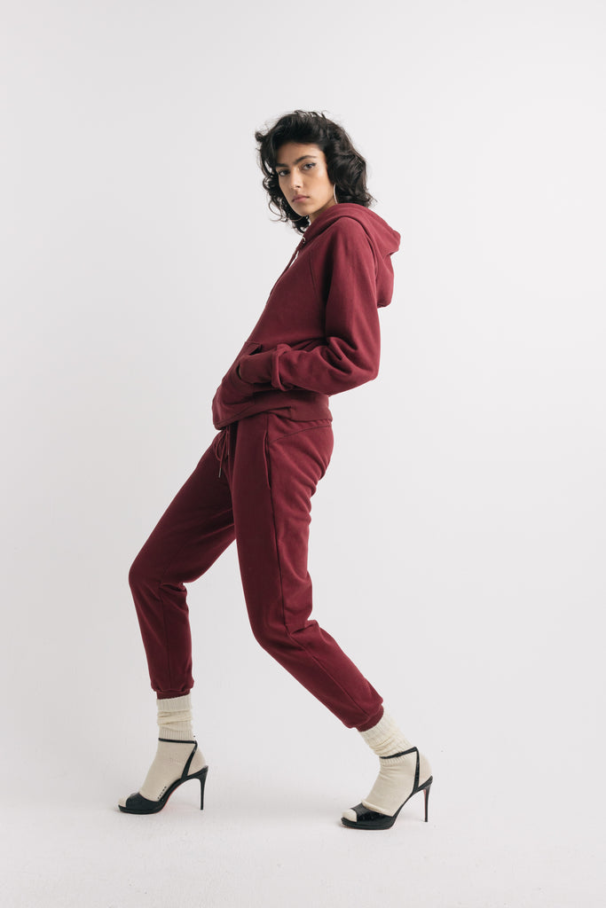 Ruby sweatpants