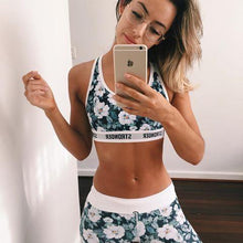 Tropical Floral Workout Set