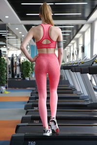 High Waist Ombre Active Leggings