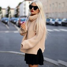 Turtleneck Wide Sleeve Sweater