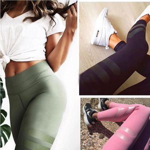 High Waist Sporty Workout Leggings