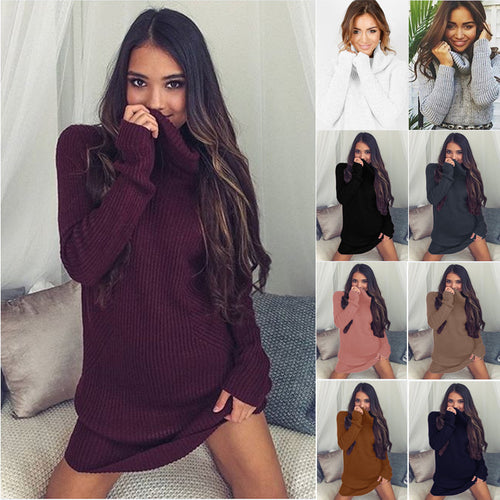 Oversize Long Sleeve Knitted Sweater