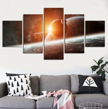 Eclipse Five Piece Canvas