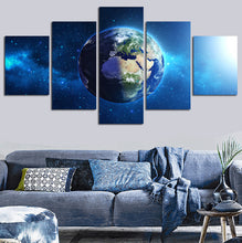 Earth Five Piece Canvas