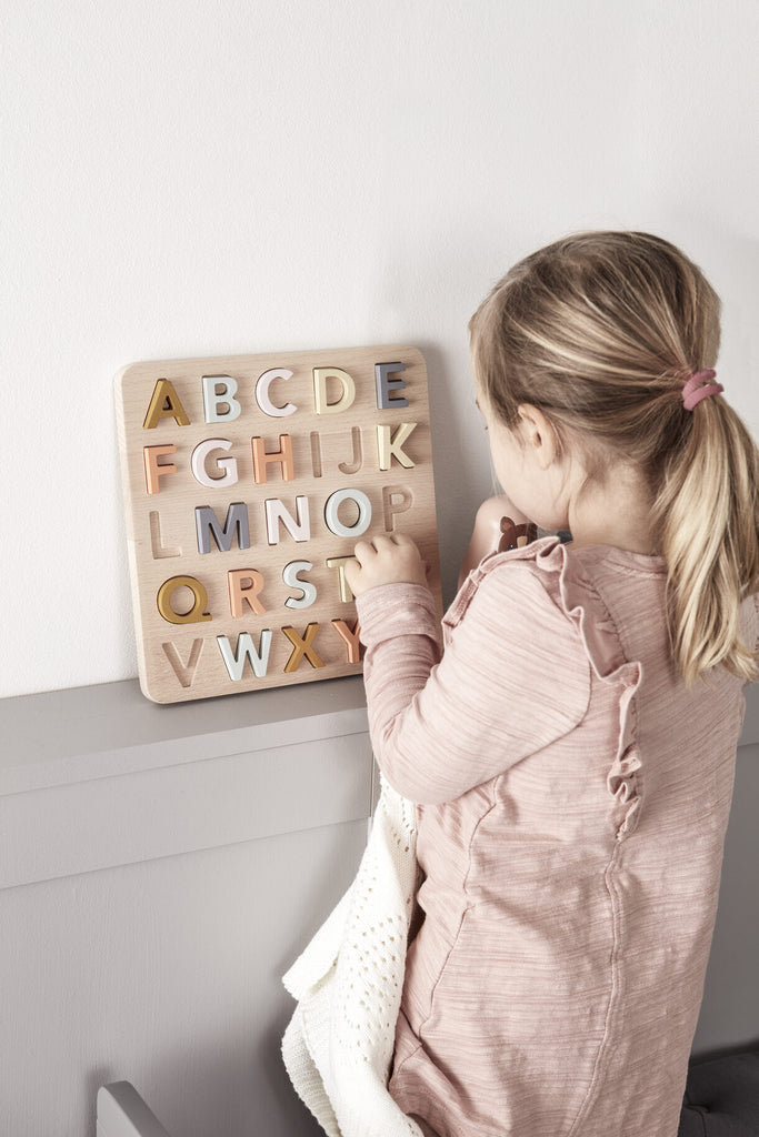 Kids Concept wooden ABC puzzle