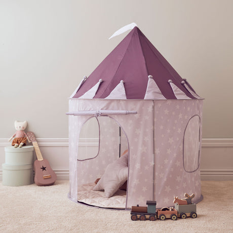 Kids Concept Lilac Star Tent PREORDER SHIPPING APRIL 19th