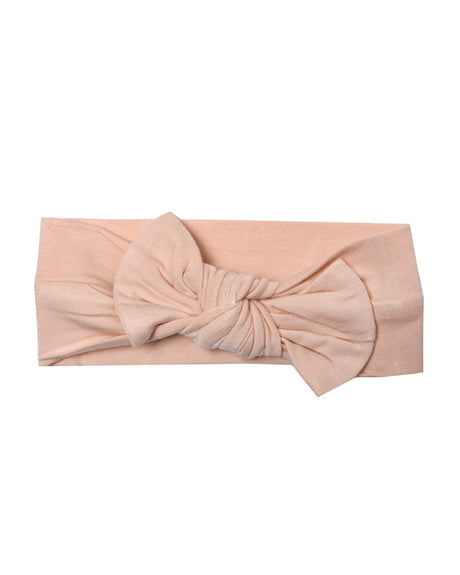 Knotted Bow - Blush