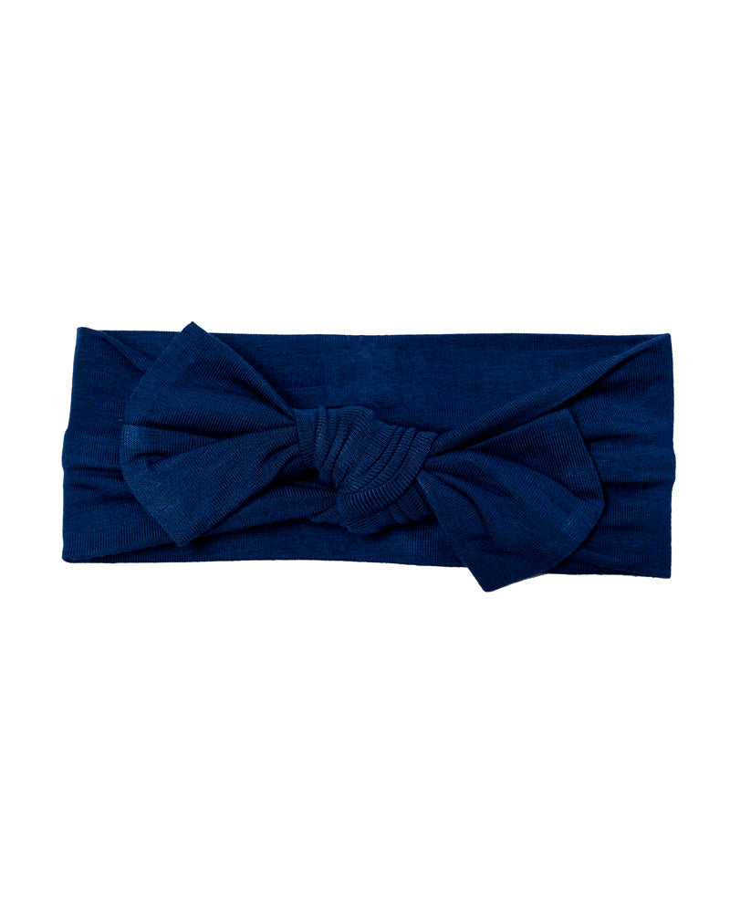 Knotted Bow - Indigo