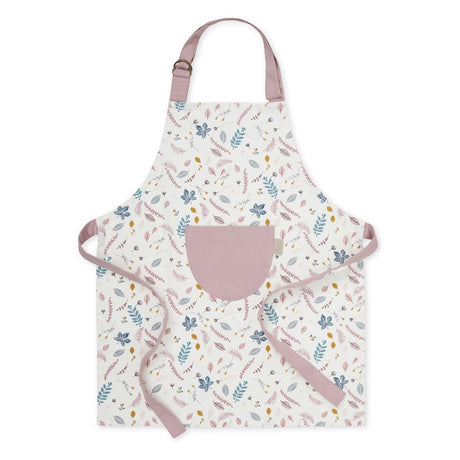 Children's Apron - Pressed Leaves Rose