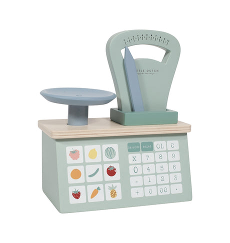 Wooden Weighing scales - Mint