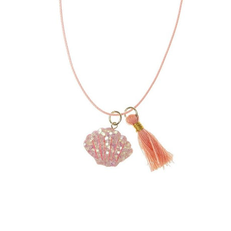 Shimmer Shell Necklace