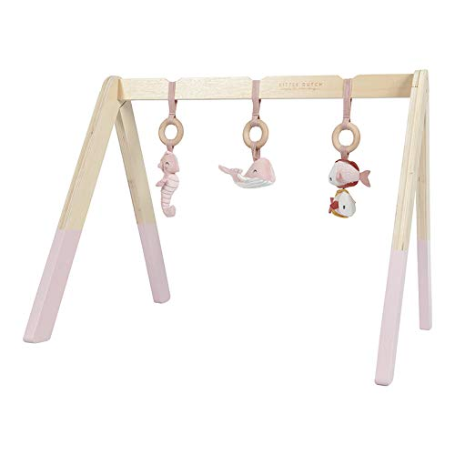 Wooden Play Gym - Pink