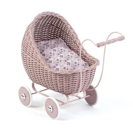 SmallStuff Wicker Stroller - Powder