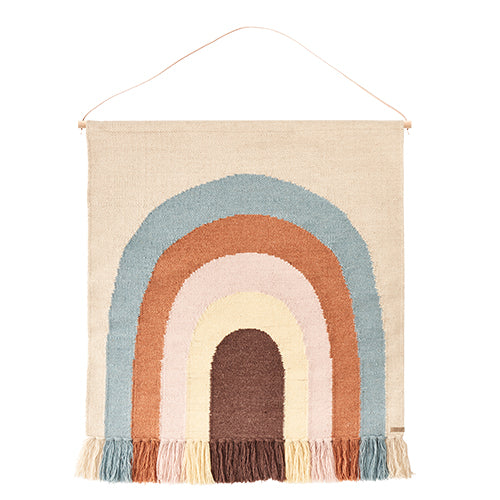 oyoy 'Follow The Rainbow' Wall Rug