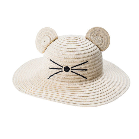 Little Mouse Floppy Sun Hat - 3-6 Years